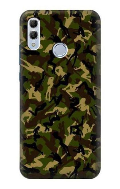 S3356 Sexy Girls Camo Camouflage Case For Huawei Honor 10 Lite, Huawei P Smart 2019