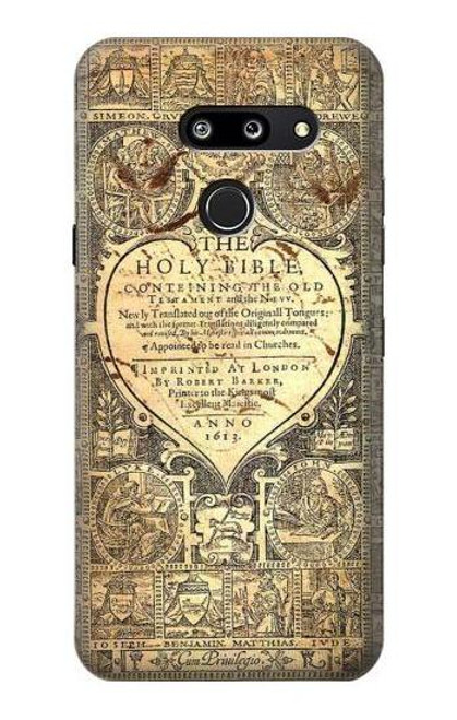S0330 Bible Page Case For LG G8 ThinQ