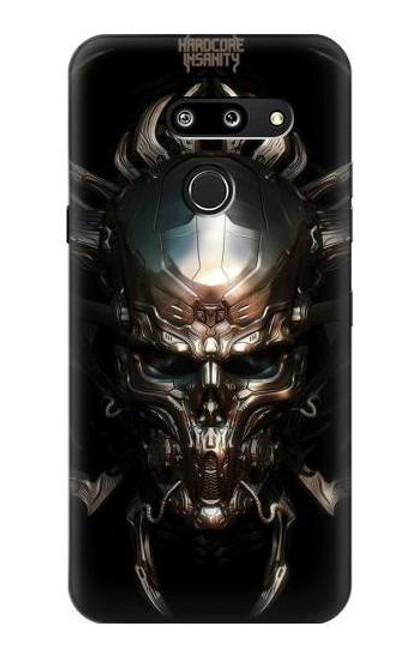 S1027 Hardcore Metal Skull Case For LG G8 ThinQ