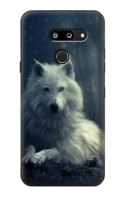 S1516 White Wolf Case For LG G8 ThinQ