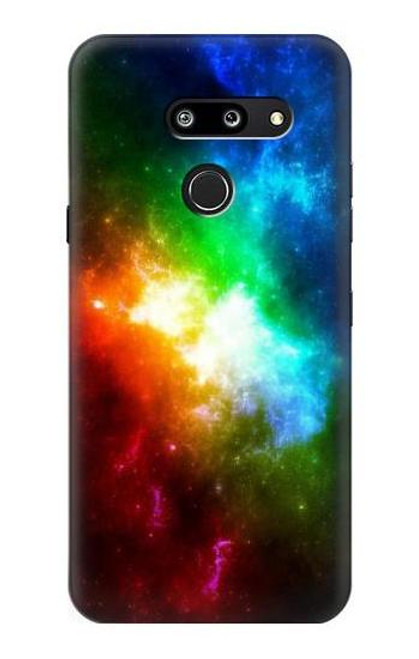 S2312 Colorful Rainbow Space Galaxy Case For LG G8 ThinQ