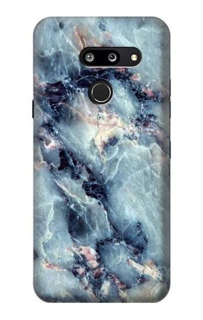 S2689 Blue Marble Texture Graphic Printed Case For LG G8 ThinQ