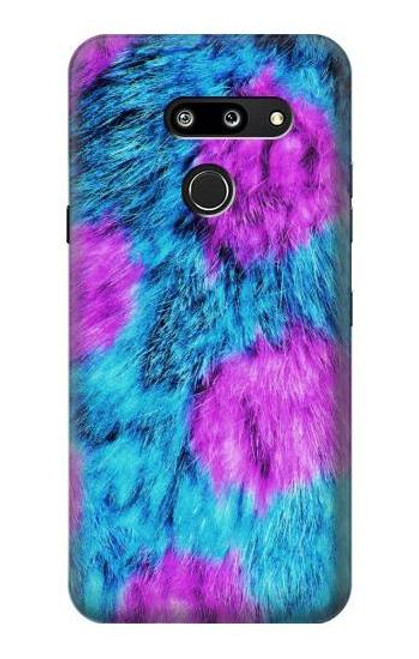 S2757 Monster Fur Skin Pattern Graphic Case For LG G8 ThinQ