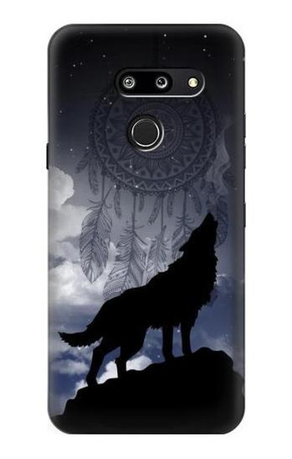S3011 Dream Catcher Wolf Howling Case For LG G8 ThinQ