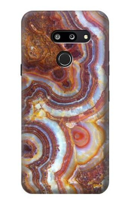S3034 Colored Marble Texture Printed Case For LG G8 ThinQ