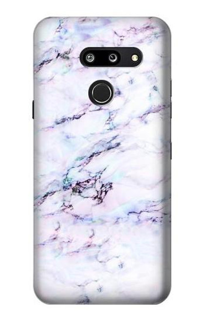 S3215 Seamless Pink Marble Case For LG G8 ThinQ