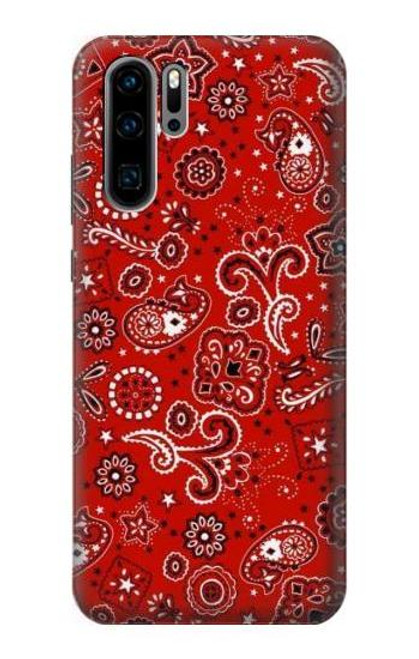 S3354 Red Classic Bandana Case For Huawei P30 Pro