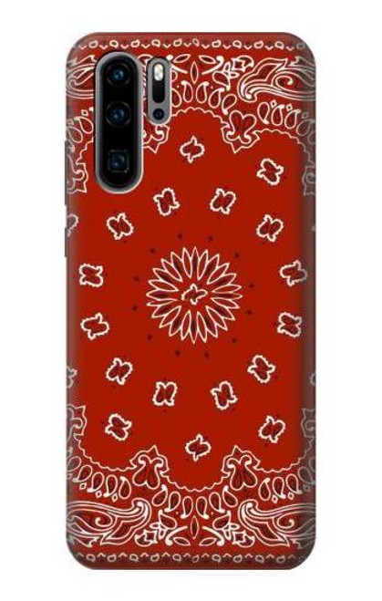 S3355 Bandana Red Pattern Case For Huawei P30 Pro