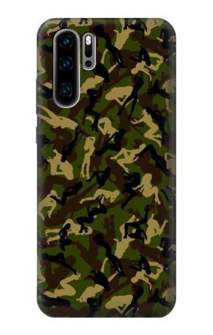 S3356 Sexy Girls Camo Camouflage Case For Huawei P30 Pro