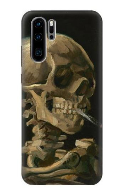 S3358 Vincent Van Gogh Skeleton Cigarette Case For Huawei P30 Pro