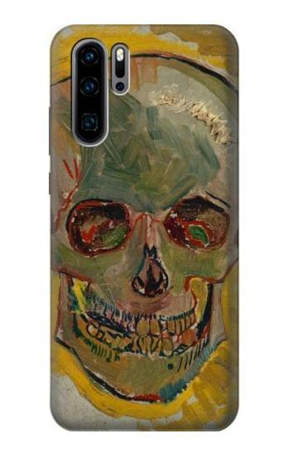 S3359 Vincent Van Gogh Skull Case For Huawei P30 Pro