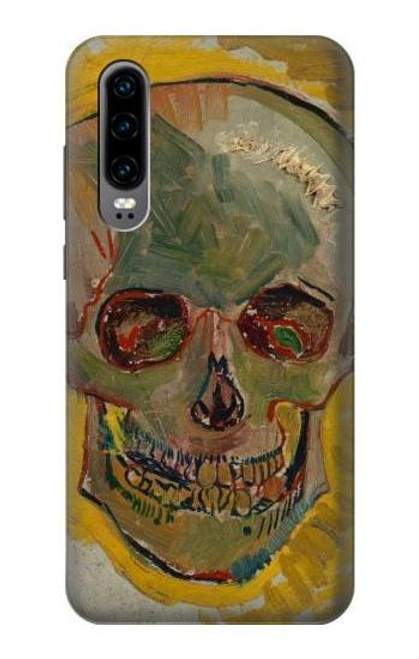 S3359 Vincent Van Gogh Skull Case For Huawei P30