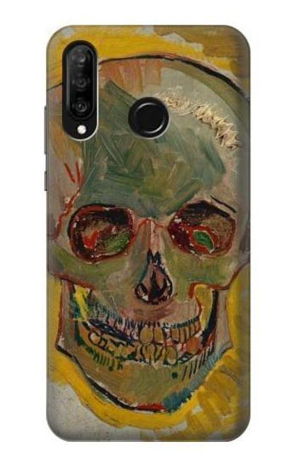S3359 Vincent Van Gogh Skull Case For Huawei P30 lite