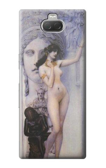 S3353 Gustav Klimt Allegory of Sculpture Case For Sony Xperia 10