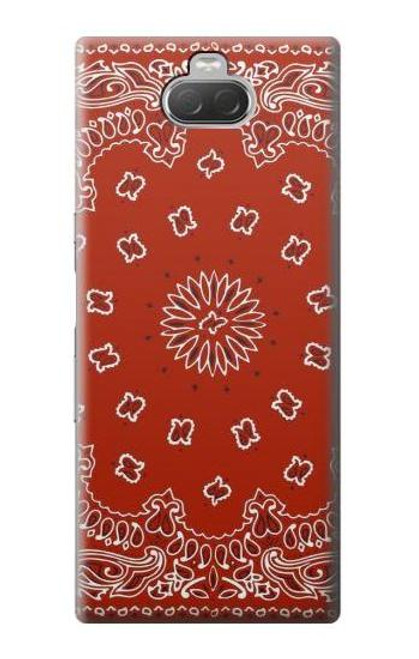 S3355 Bandana Red Pattern Case For Sony Xperia 10