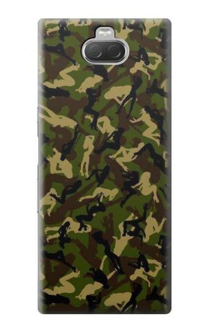 S3356 Sexy Girls Camo Camouflage Case For Sony Xperia 10
