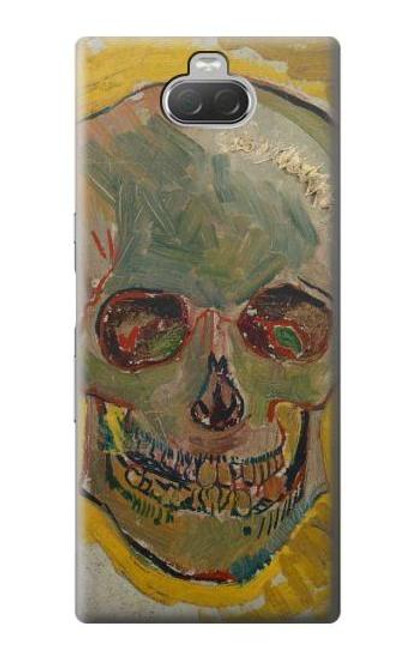 S3359 Vincent Van Gogh Skull Case For Sony Xperia 10