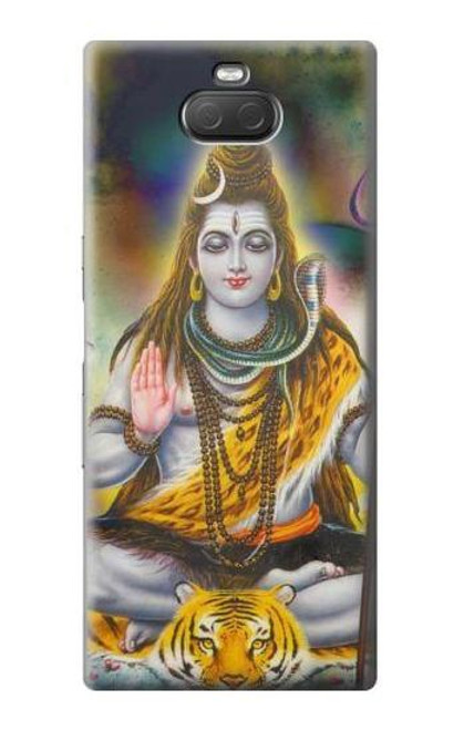 S2287 Lord Shiva Hindu God Case For Sony Xperia 10 Plus