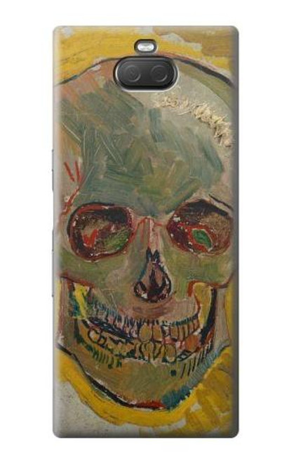 S3359 Vincent Van Gogh Skull Case For Sony Xperia 10 Plus