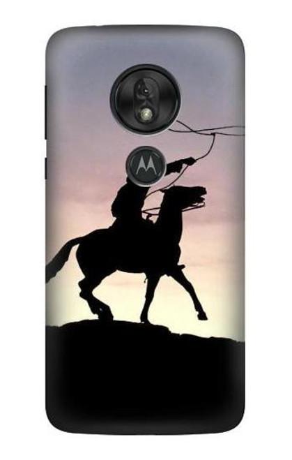 S0773 Cowboy Case For Motorola Moto G7 Play