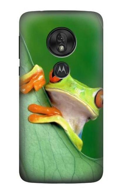 S1047 Little Frog Case For Motorola Moto G7 Play
