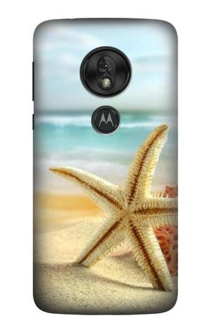 S1117 Starfish on the Beach Case For Motorola Moto G7 Play