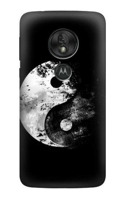 S1372 Moon Yin-Yang Case For Motorola Moto G7 Play