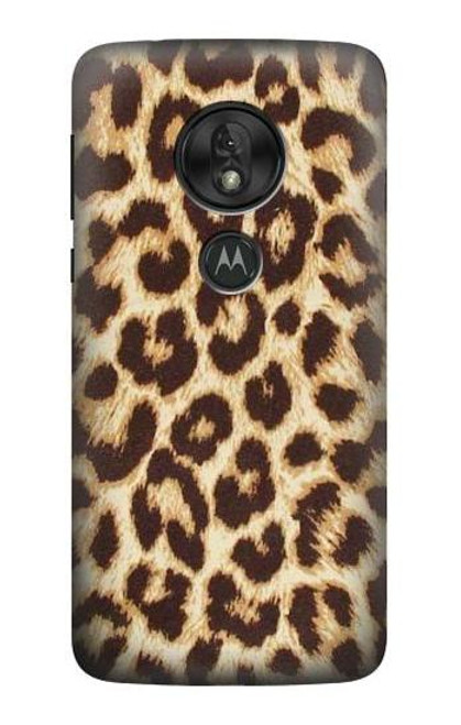 S2204 Leopard Pattern Graphic Printed Case For Motorola Moto G7 Play