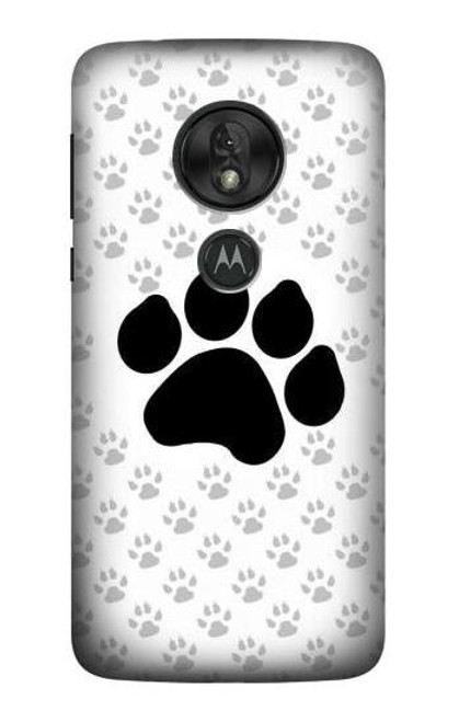 S2355 Paw Foot Print Case For Motorola Moto G7 Play