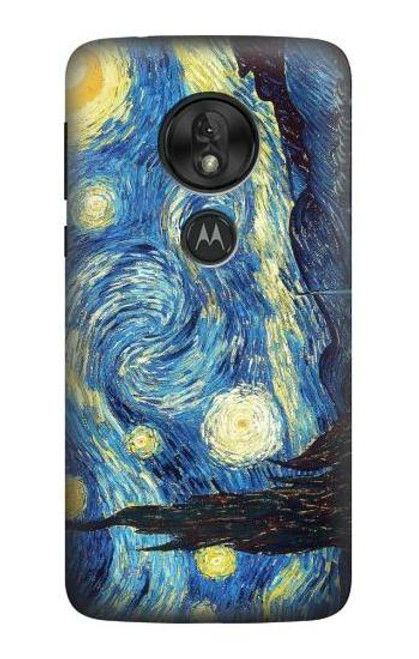 S0213 Van Gogh Starry Nights Case For Motorola Moto G7 Power