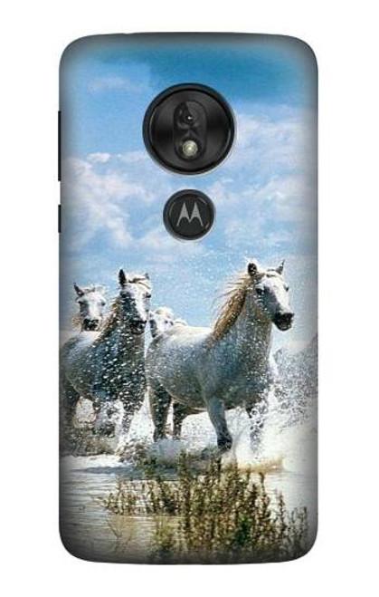 S0250 White Horse 2 Case For Motorola Moto G7 Power