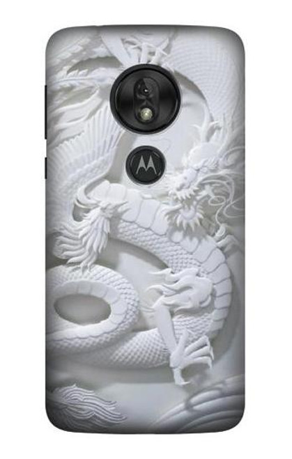 S0386 Dragon Carving Case For Motorola Moto G7 Power