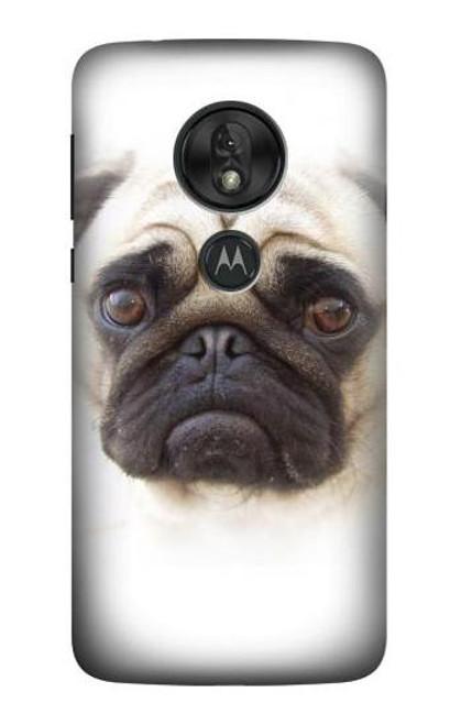 S1852 Pug Dog Case For Motorola Moto G7 Power
