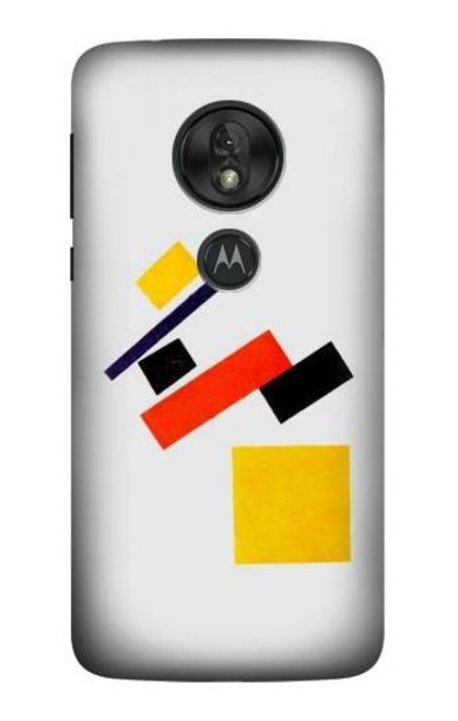 S1958 Malevich Suprematism Case For Motorola Moto G7 Power