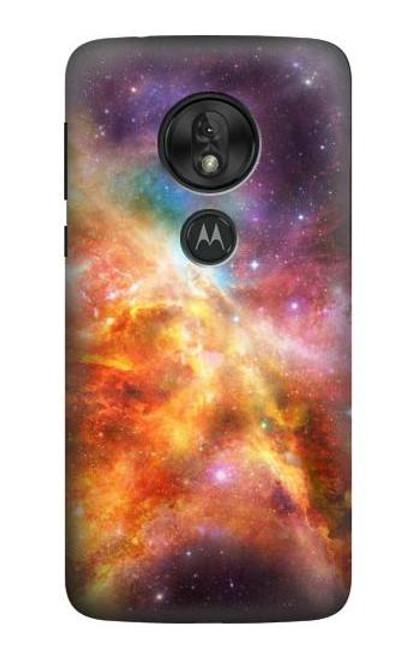 S1963 Nebula Rainbow Space Case For Motorola Moto G7 Power