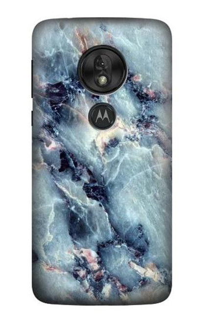 S2689 Blue Marble Texture Graphic Printed Case For Motorola Moto G7 Power