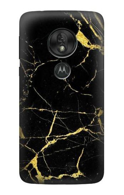 S2896 Gold Marble Graphic Printed Case For Motorola Moto G7 Power