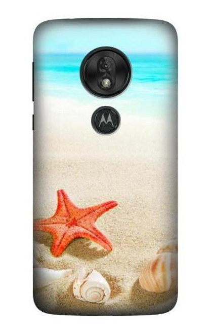 S3212 Sea Shells Starfish Beach Case For Motorola Moto G7 Power