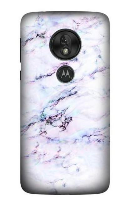 S3215 Seamless Pink Marble Case For Motorola Moto G7 Power