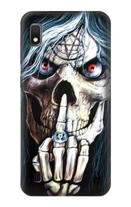 S0222 Skull Pentagram Case For Samsung Galaxy A10