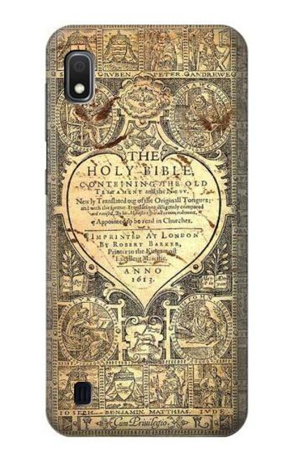 S0330 Bible Page Case For Samsung Galaxy A10