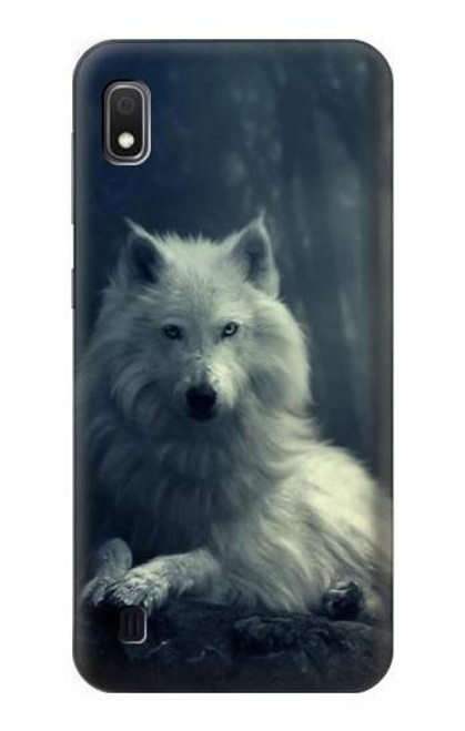 S1516 White Wolf Case For Samsung Galaxy A10