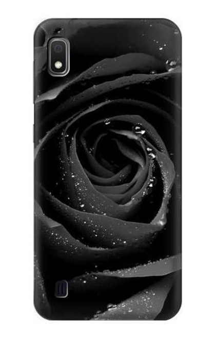 S1598 Black Rose Case For Samsung Galaxy A10