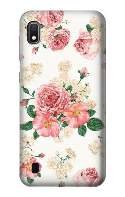 S1859 Rose Pattern Case For Samsung Galaxy A10