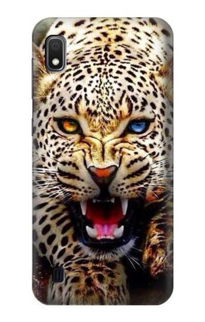 S1932 Blue Eyed Leopard Case For Samsung Galaxy A10