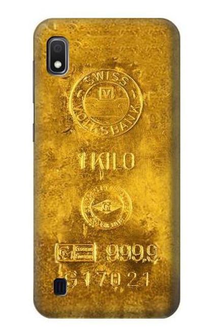 S2618 One Kilo Gold Bar Case For Samsung Galaxy A10