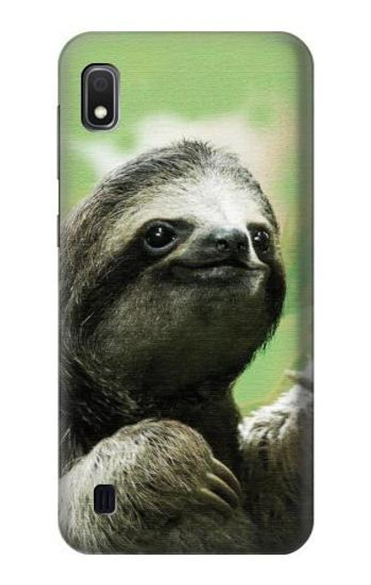 S2708 Smiling Sloth Case For Samsung Galaxy A10