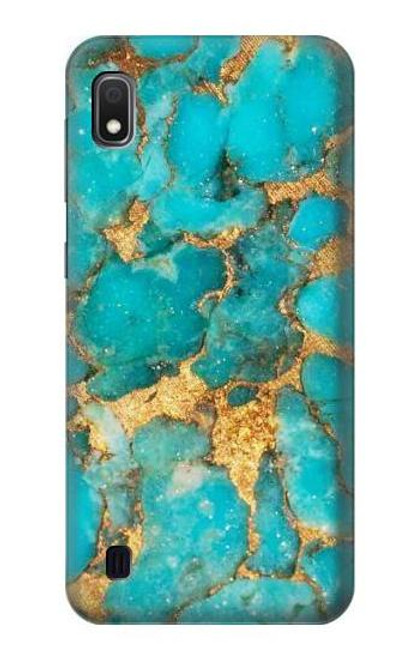 S2906 Aqua Turquoise Stone Case For Samsung Galaxy A10
