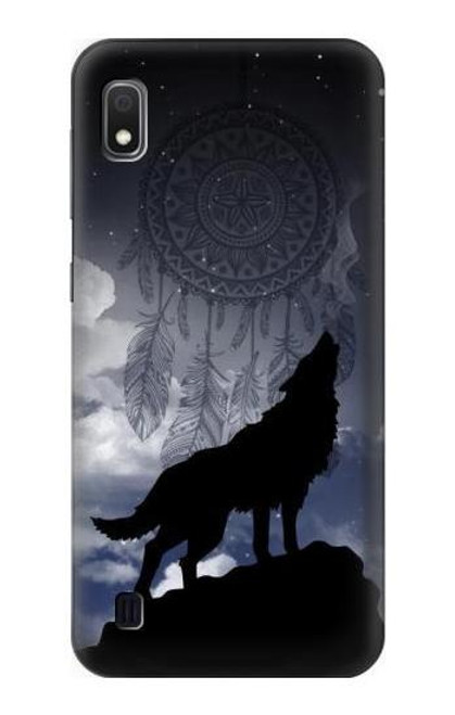 S3011 Dream Catcher Wolf Howling Case For Samsung Galaxy A10