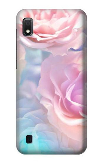 S3050 Vintage Pastel Flowers Case For Samsung Galaxy A10